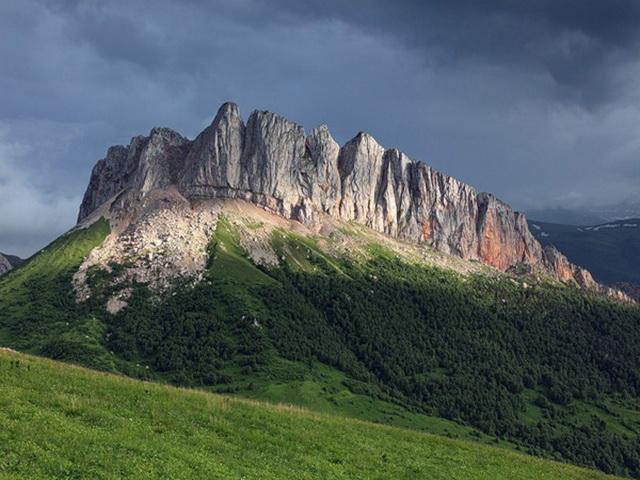 05 Гора Ачешбок и перевал Чертовы ворота
