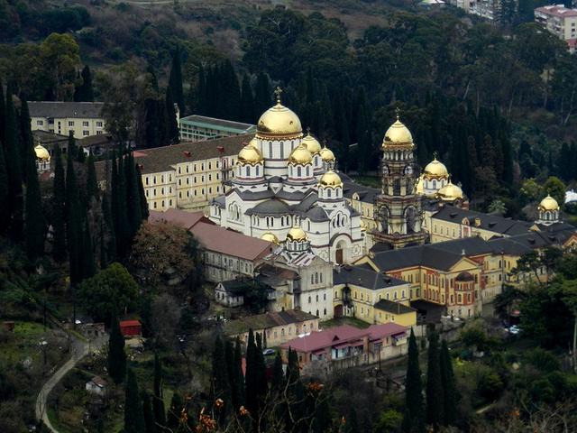 afon1 Мужской монастырь Нового Афона
